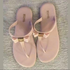 Michael Kors Caroline Jelly Sandal Pink 8M
